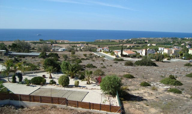 Seaside Land for Sale in Paphos' Sea Caves