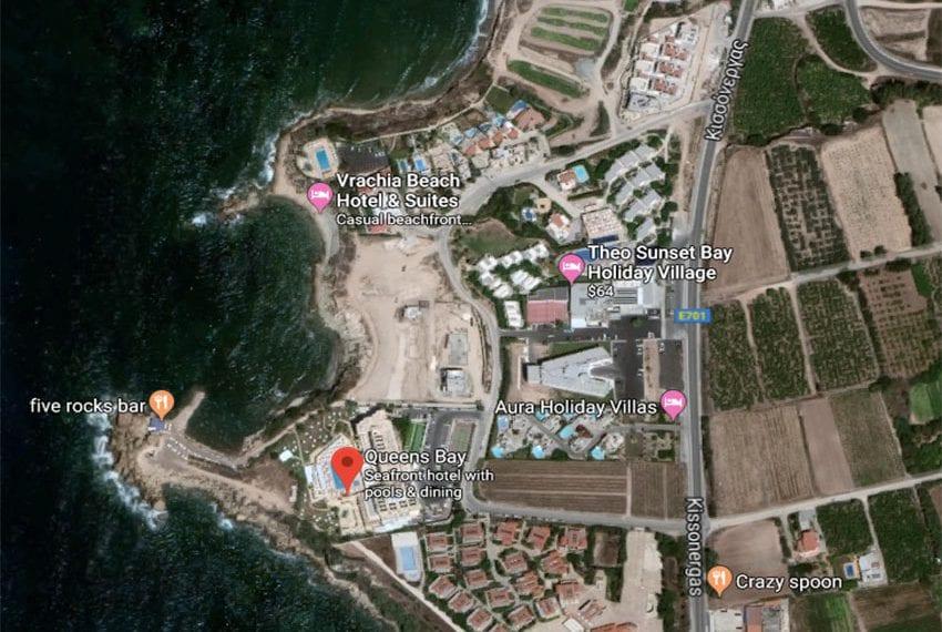 Sea Front Land for Sale in Paphos Development, Kissonerga