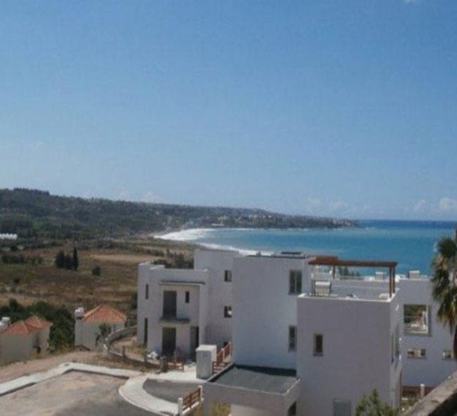 Two Bedroom Townhouse for sale in Peyia's Coral Bay