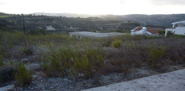 Land for Sale in Paphos, Kallepia Area, 1849m²