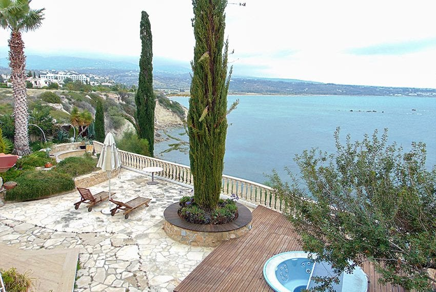 Sea Front Villa for Sale in Peyia's Coral Bay