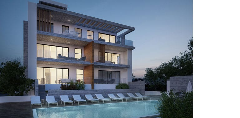 2 Bedroom Luxury Apartments for sale in Peyia's Elysium Gates