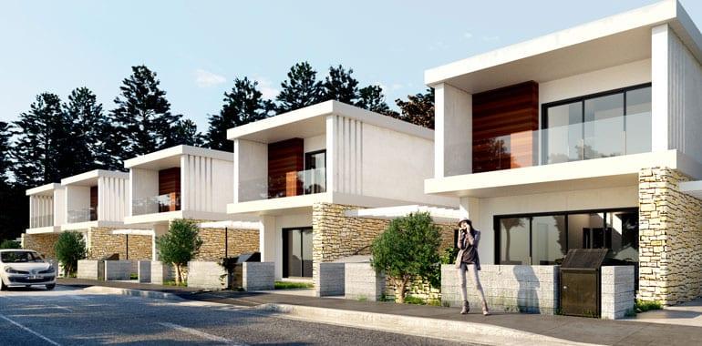 Modern 3 bedroom detached Villa for sale in Paphos'Universal area