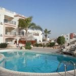 2 Bedroom Apartment For Sale In Paphos With Large Terrace