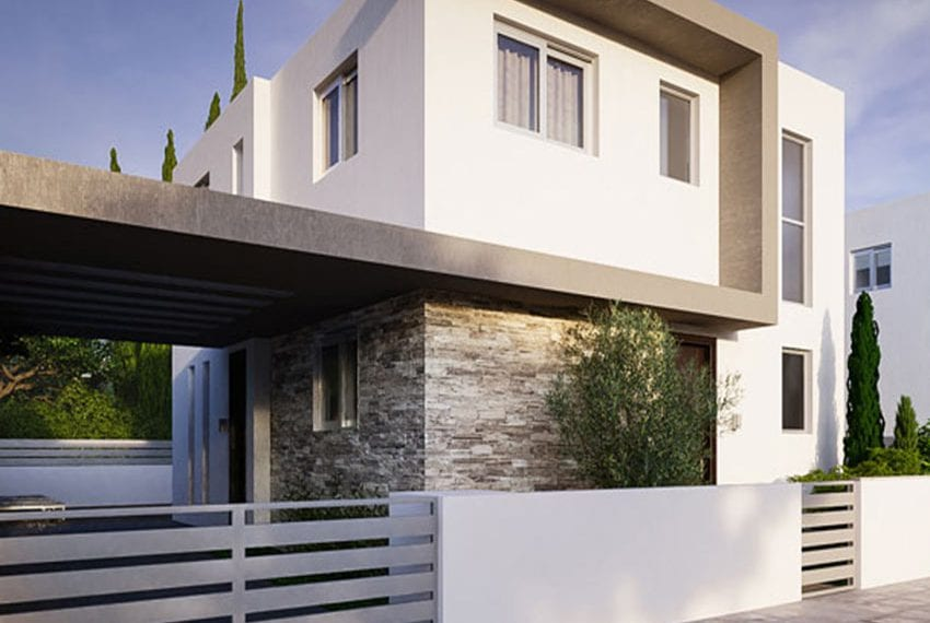 New Secluded 3 Bedroom Apartment For Sale In Paphos