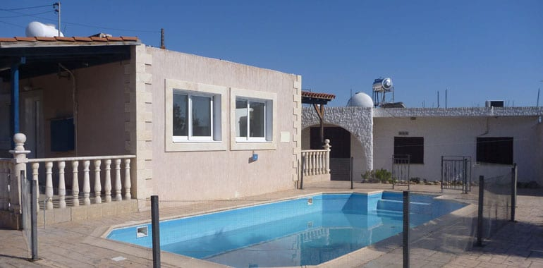 2 Bedroom Bungalow For Sale In Paphos with Annex, Emba Village