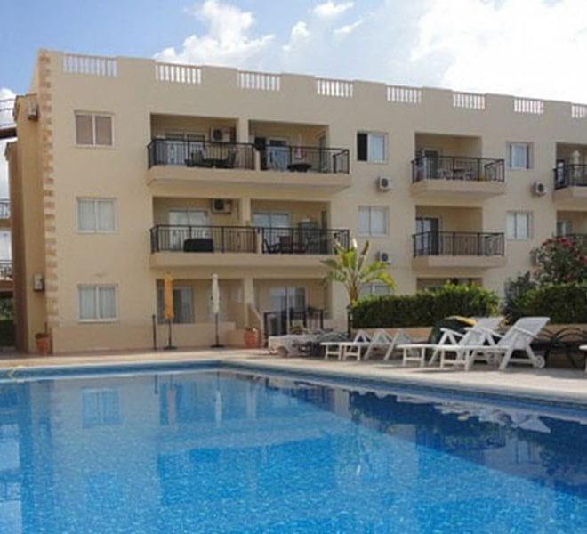 2 Bedroom Apartment For Sale In Paphos, with beaches nearby!