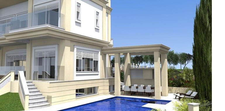 Luxury sea frontVilla for sale in Paphos'Kissonerga Suburbs
