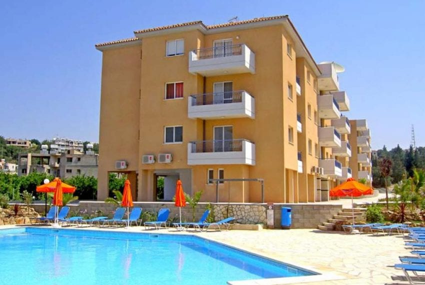 First Floor 3 Bedroom Apartment For Sale in Paphos