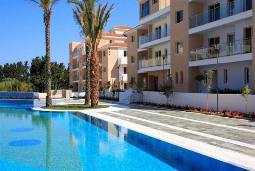 Modern Apartment For Sale in Paphos Resort