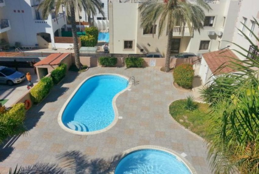 Spacious 3 Bedroom Apartment For Sale in Paphos