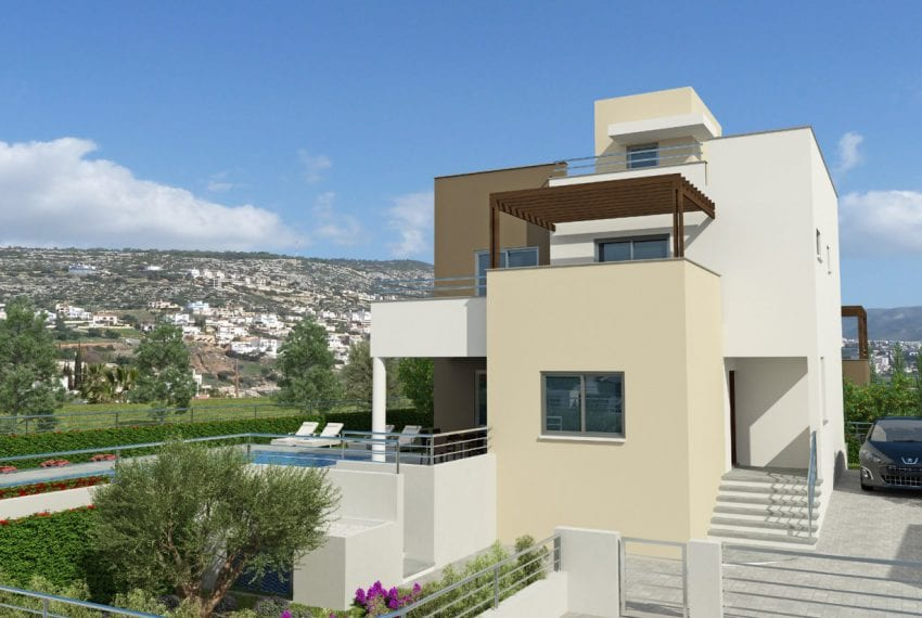 Riza Heights with Villa for sale in Peyia