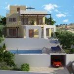 Villa for sale in Peyia, Mitas & Stasis Plots - Panoramic views