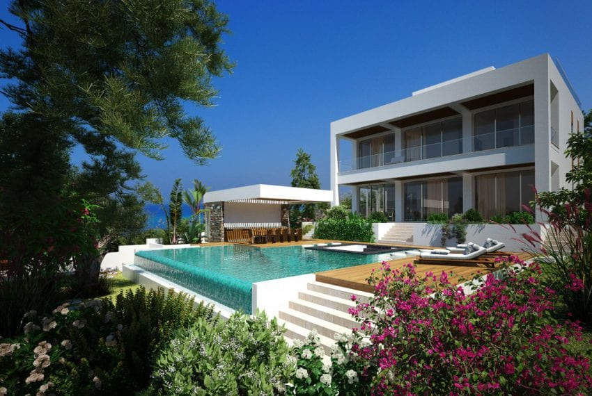 Seafront Villa for sale in Paphos At Rosemarine Residences