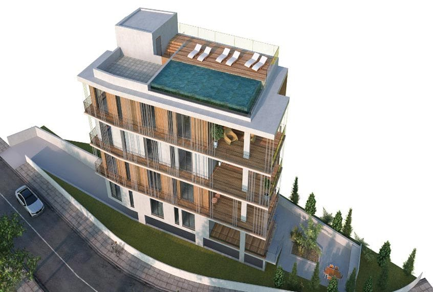 Luxury Apartments For Sale in Paphos' Georgio Court