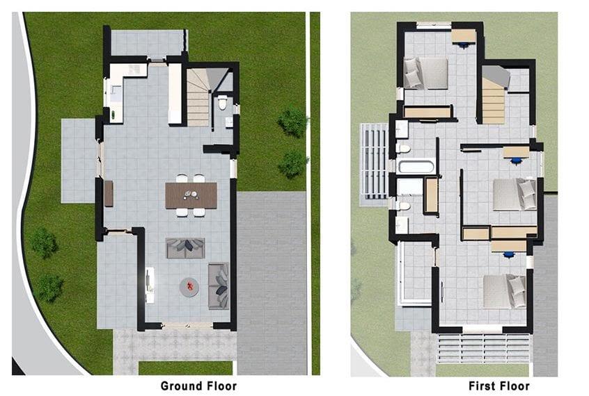 Detached Modern Villas for sale in Paphos