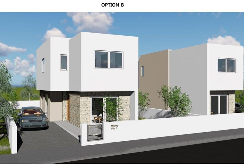 New Villas for sale in Paphos' Mesogi Georgia 3 Project