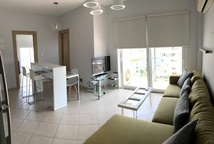 Stylish 1 Bedroom Beachfront Apartment For Sale in Limassol