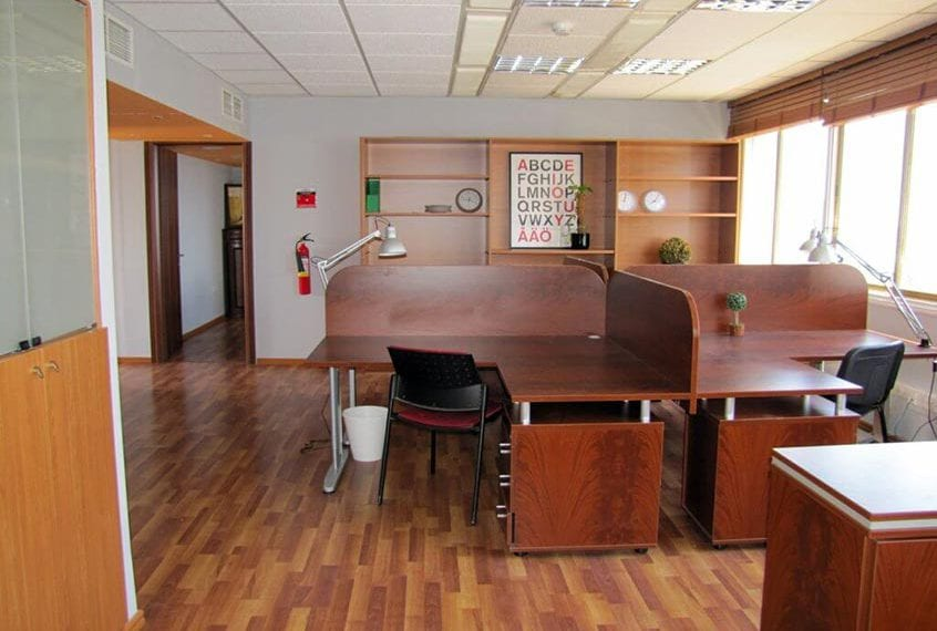 Sea-view Office For Sale in Limassol with 3 Private Offices