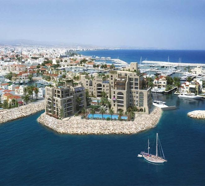 2 Bedroom Apartments For Sale in Limassol's Castle Residences