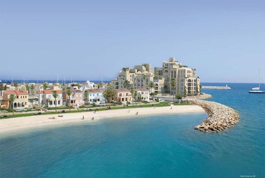 3 Bedroom Apartments For Sale in Limassol's Castle Residences