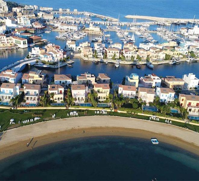 Twelve 4-Bedroom Island Villas For Sale in the Limassol Marina