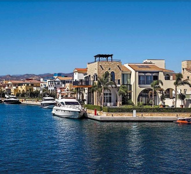 Three 3-Bedroom Island Villas For Sale in the Limassol Marina