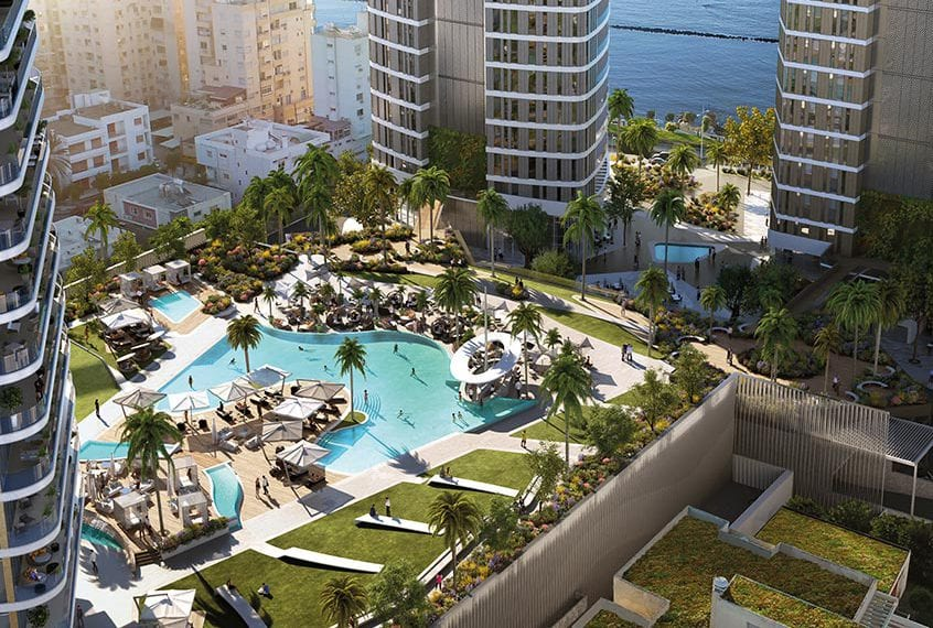 3 Bedroom Apartments For Sale in Limassol's Trilogy West Tower