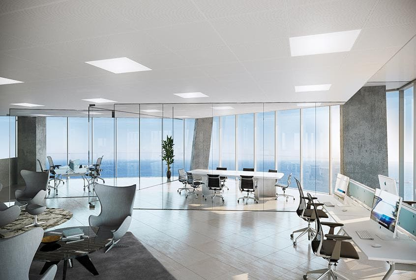 Offices For Sale in Limassol's Trilogy West Tower, up to 15th Floor