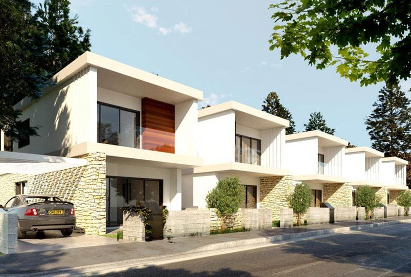 Three 3-Bedroom Villas for sale in Paphos' Konia Sapphire Heights