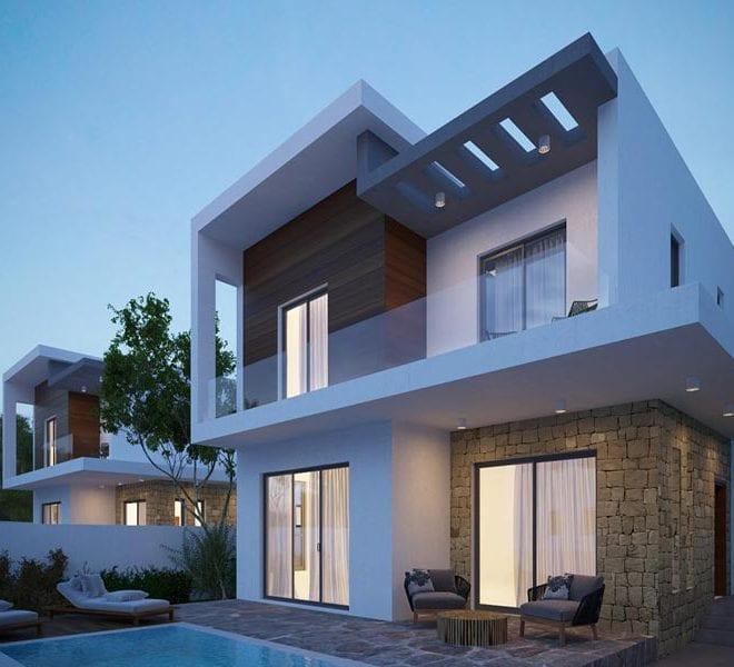 Seven 3-Bedroom Villas for sale in Paphos' Myrtus Residences