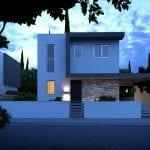 Four 3 bedroomVillas for sale in Paphos Portokalies Gardens