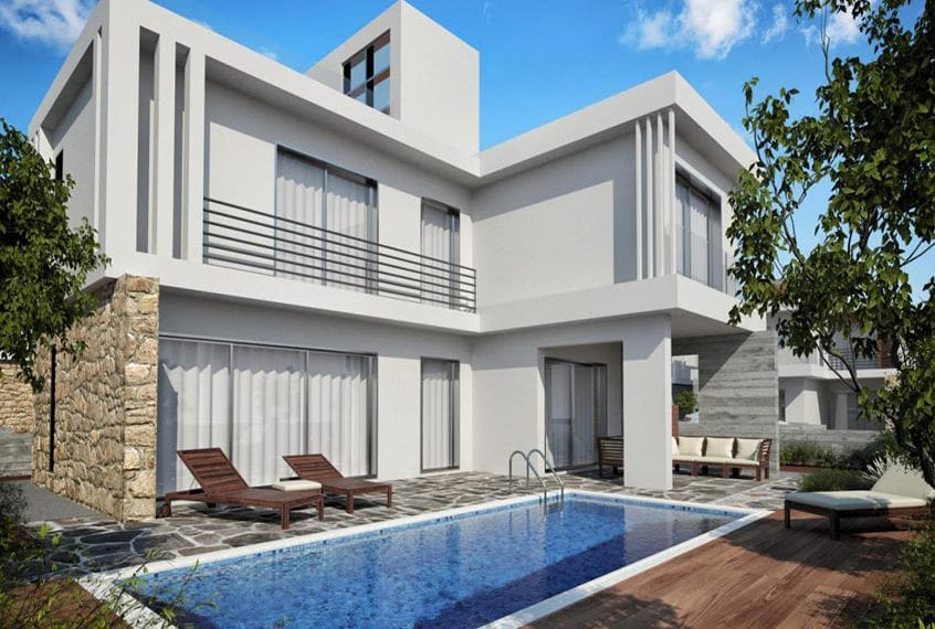 Four 3-BedroomVillas for sale in Paphos Lungomare