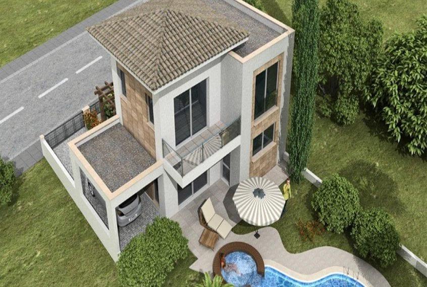 Six 3-Bedroom Villas For Sale in Limassol'sSunrise Moni