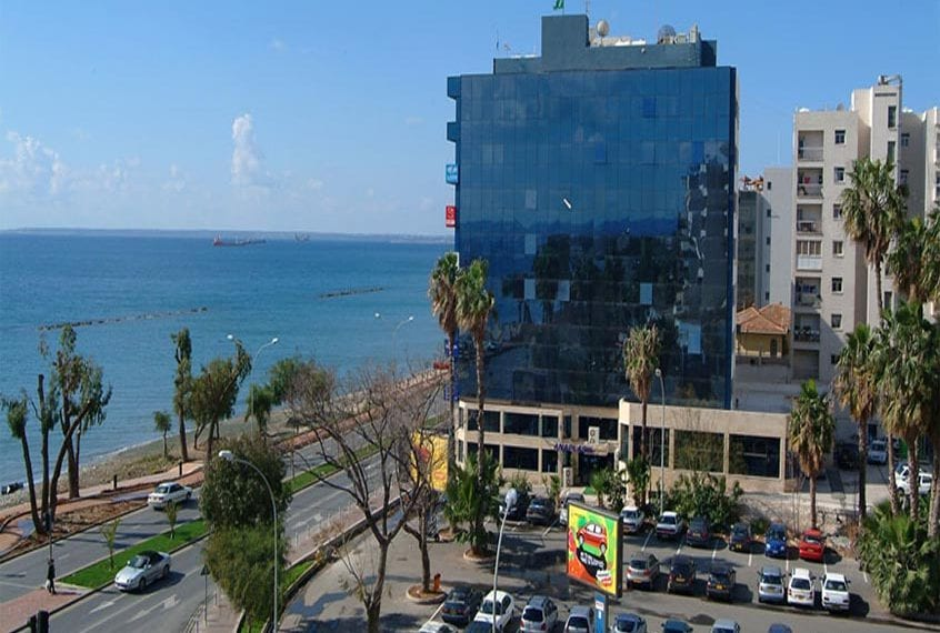 5th floor Office for sale in Limassol with seaview!