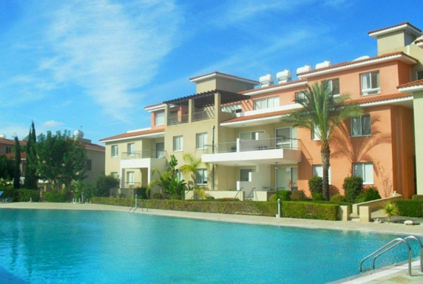 2 Bedroom Apartment For Sale In Paphos' Yeroskipou Suburb
