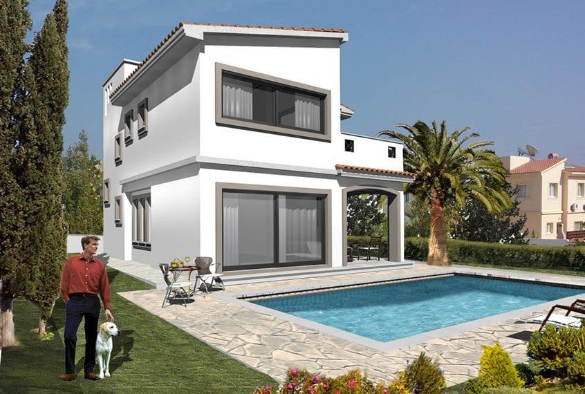 Three 3 Bedroom Luxury Villas for Sale in Peyia