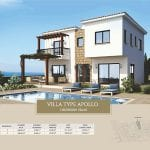 Villa for sale in Paphos, Venus Rock Resort, Villa Type Apollo