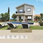 Villa for sale in Paphos, Venus Rock Resort, Villa Type Aretousa