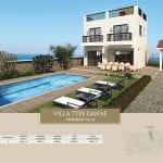 Villa for sale in Paphos, Venus Rock Resort, Villa Type Danae