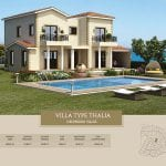 Villa for sale in Paphos, Venus Rock Resort, Villa Type Thalia