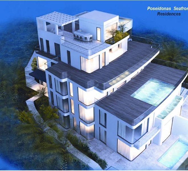 Poseidonas Seafront Luxury Apartments For Sale In Paphos
