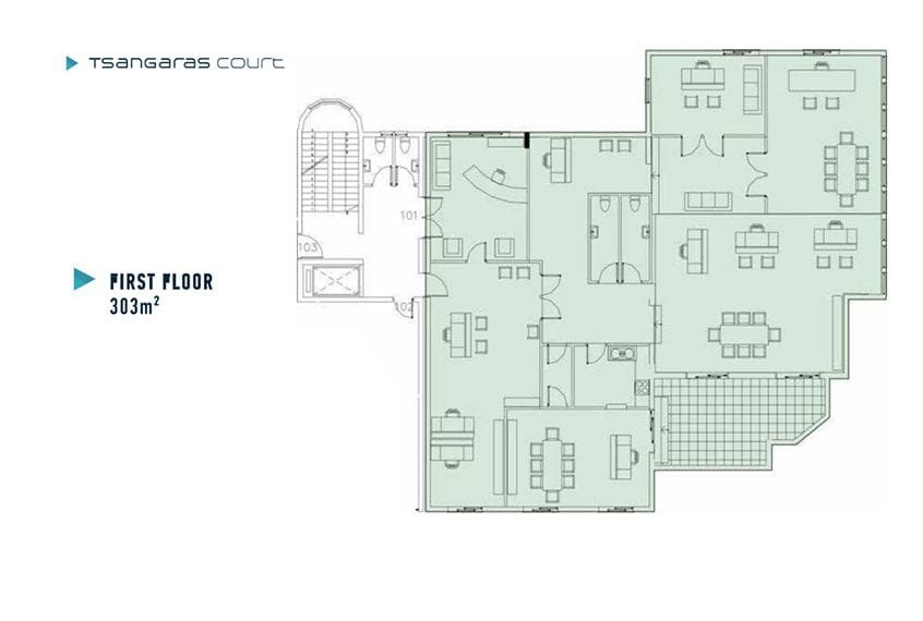 4 Floor Offices for sale in Paphos' Popular Business Area