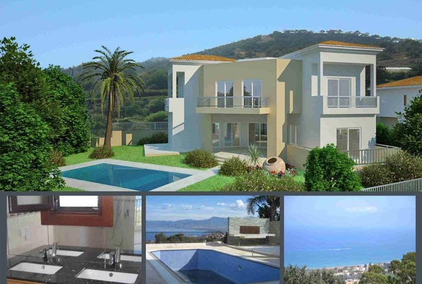 4 BedroomVilla for sale in Polis With Endless Sea Views