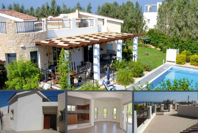 2 BedroomVilla for sale in Polis with Large Pool