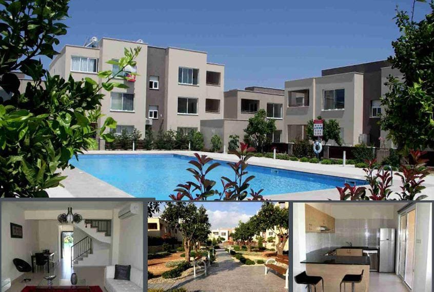 2 Bedroom Townhouse for Sale in Paphos' Mandria Village
