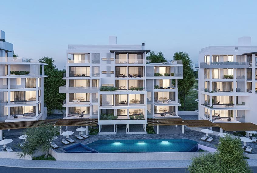 Modern 2 Bedroom Apartment for sale in Paphos' Center