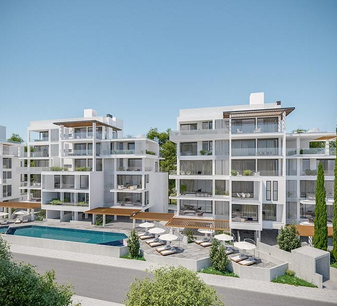 Modern 3 Bedroom Apartment for sale in Paphos' Center