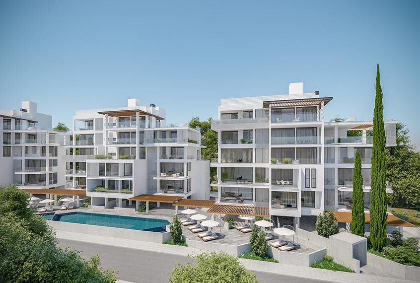 Modern 3 Bedroom Penthouse Apartments for sale in Paphos