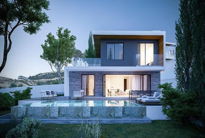 Modern 4 Bedroom Villa for sale in Limassol Suburbs